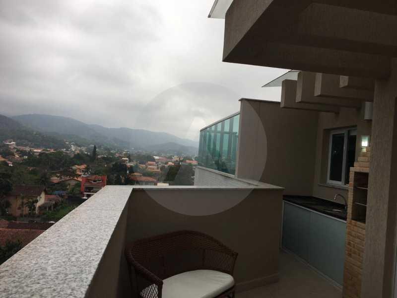 8-Cobertura Linear Itaipu. - Imobiliária Agatê Imóveis vende Cobertura Linear de 106 m² Itaipu - Niterói por 700 mil reais - HTCO20007 - 9