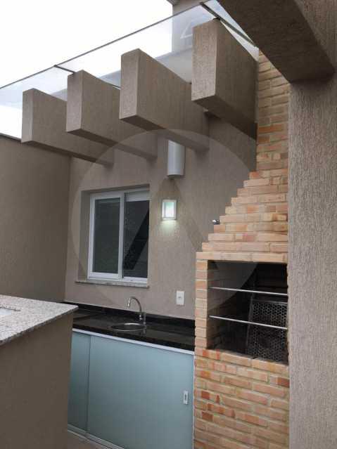 9-Cobertura Linear Itaipu. - Imobiliária Agatê Imóveis vende Cobertura Linear de 106 m² Itaipu - Niterói por 700 mil reais - HTCO20007 - 10
