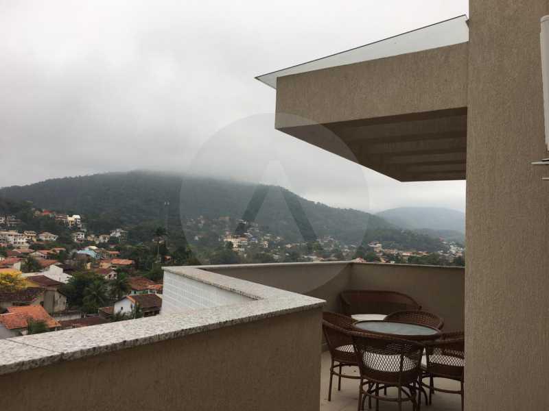 14-Cobertura Linear Itaipu. - Imobiliária Agatê Imóveis vende Cobertura Linear de 106 m² Itaipu - Niterói por 700 mil reais - HTCO20007 - 15