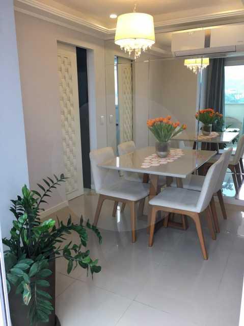 15-Cobertura Linear Itaipu. - Imobiliária Agatê Imóveis vende Cobertura Linear de 106 m² Itaipu - Niterói por 700 mil reais - HTCO20007 - 16