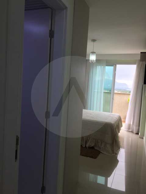 16-Cobertura Linear Itaipu. - Imobiliária Agatê Imóveis vende Cobertura Linear de 106 m² Itaipu - Niterói por 700 mil reais - HTCO20007 - 17