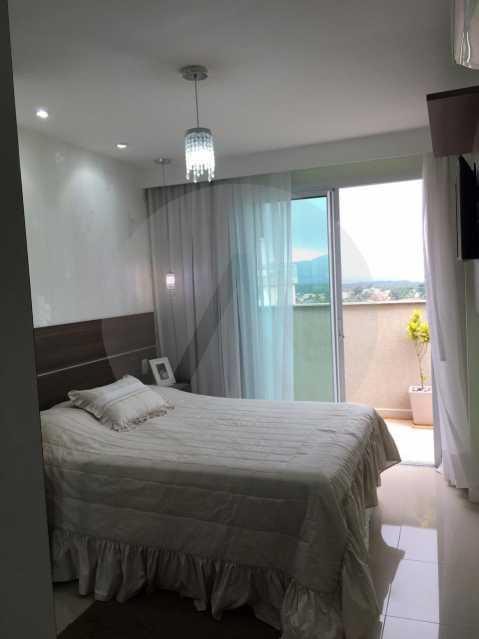 18-Cobertura Linear Itaipu. - Imobiliária Agatê Imóveis vende Cobertura Linear de 106 m² Itaipu - Niterói por 700 mil reais - HTCO20007 - 19