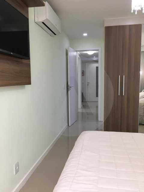 20-Cobertura Linear Itaipu. - Imobiliária Agatê Imóveis vende Cobertura Linear de 106 m² Itaipu - Niterói por 700 mil reais - HTCO20007 - 21