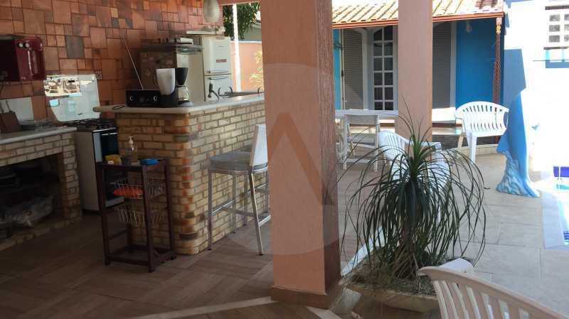4 Casa em Condomínio Itaipu. - Imobiliária Agatê Imóveis vende Casa em Condomínio de 350 m² Itaipu - Niterói por 1.200.000 mil reais. - HTCN40009 - 13