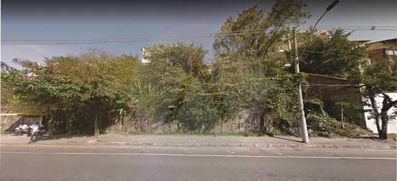 2 Terreno Piratininga - Imobiliária Agatê Imóveis vende Terreno Aclive, 1.350m² por R 750.000 - Piratininga - Niterói/RJ. - HTMF00002 - 3