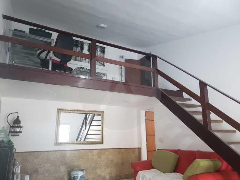 8-Casa Duplex Itaipu. - Imobiliária Agatê Imóveis vende Casa Linear de 120 m² Itaipu - Niterói por 610 mil reais - HTCA20032 - 9