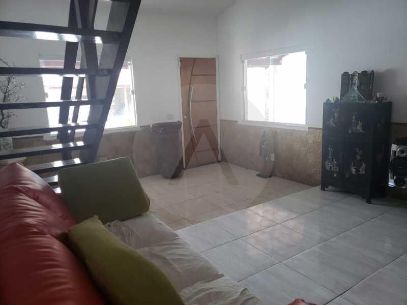 12-Casa Duplex Itaipu. - Imobiliária Agatê Imóveis vende Casa Linear de 120 m² Itaipu - Niterói por 610 mil reais - HTCA20032 - 13