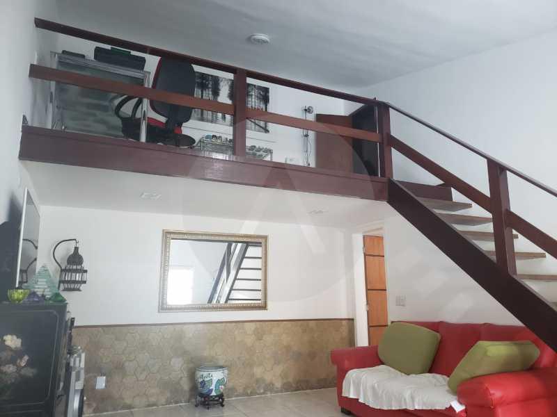 13-Casa Duplex Itaipu. - Imobiliária Agatê Imóveis vende Casa Linear de 120 m² Itaipu - Niterói por 610 mil reais - HTCA20032 - 14