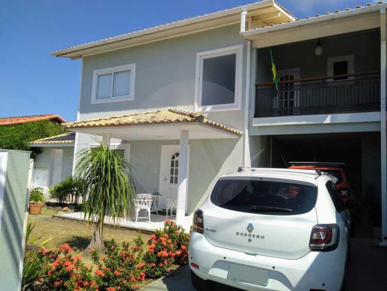 3 Casa Duplex Piratininga. - Imobiliária Agatê Imóveis vende Casa Duplex de 340m² Piratininga - Niterói. - HTCA60001 - 3