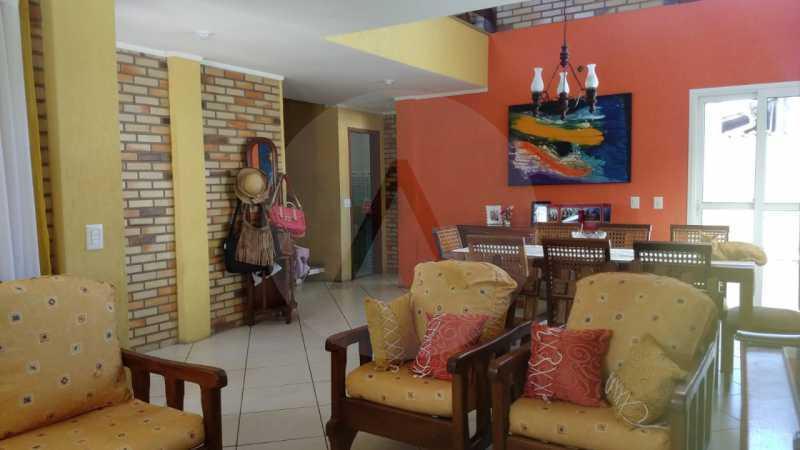 7 Casa Padrão Piratininga. - Imobiliária Agatê Imóveis vende Casa Triplex de 316 m² Piratininga - Niterói por 1.150 mil reais. - HTCA40105 - 8