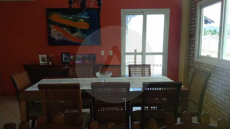 9 Casa Padrão Piratininga. - Imobiliária Agatê Imóveis vende Casa Triplex de 316 m² Piratininga - Niterói por 1.150 mil reais. - HTCA40105 - 10