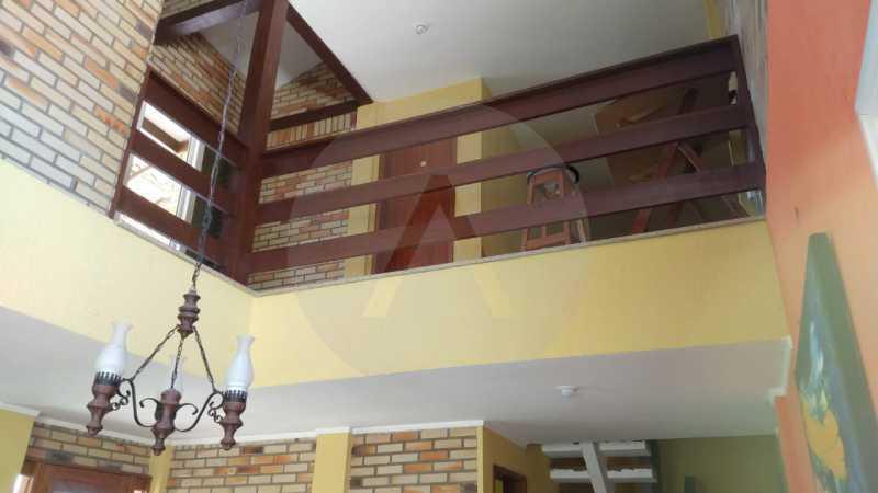 11 Casa Padrão Piratininga. - Imobiliária Agatê Imóveis vende Casa Triplex de 316 m² Piratininga - Niterói por 1.150 mil reais. - HTCA40105 - 12