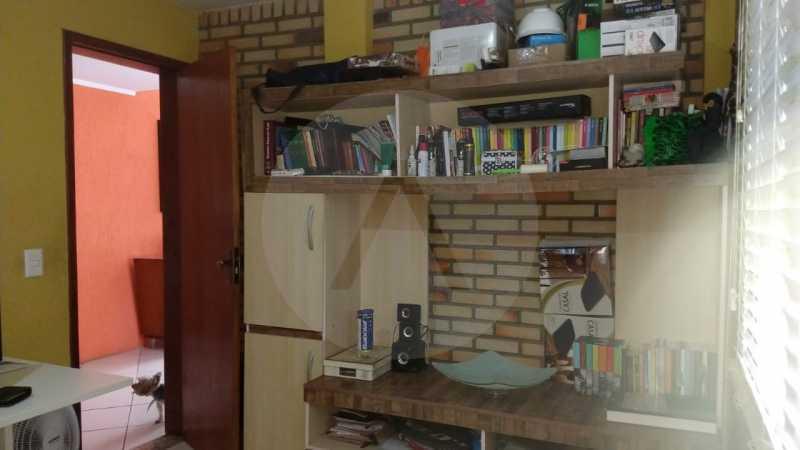 13 Casa Padrão Piratininga. - Imobiliária Agatê Imóveis vende Casa Triplex de 316 m² Piratininga - Niterói por 1.150 mil reais. - HTCA40105 - 14