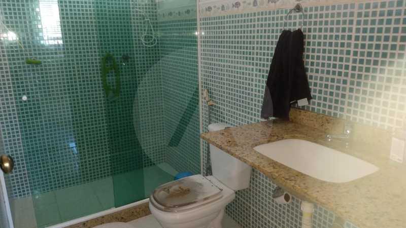 14 Casa Padrão Piratininga. - Imobiliária Agatê Imóveis vende Casa Triplex de 316 m² Piratininga - Niterói por 1.150 mil reais. - HTCA40105 - 15