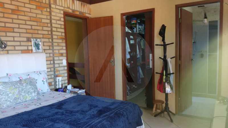 16 Casa Padrão Piratininga. - Imobiliária Agatê Imóveis vende Casa Triplex de 316 m² Piratininga - Niterói por 1.150 mil reais. - HTCA40105 - 17