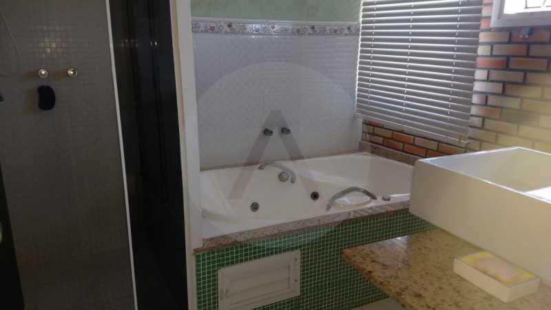 17 Casa Padrão Piratininga. - Imobiliária Agatê Imóveis vende Casa Triplex de 316 m² Piratininga - Niterói por 1.150 mil reais. - HTCA40105 - 18