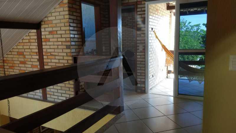 21 Casa Padrão Piratininga. - Imobiliária Agatê Imóveis vende Casa Triplex de 316 m² Piratininga - Niterói por 1.150 mil reais. - HTCA40105 - 22