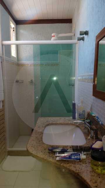 23 Casa Padrão Piratininga. - Imobiliária Agatê Imóveis vende Casa Triplex de 316 m² Piratininga - Niterói por 1.150 mil reais. - HTCA40105 - 24