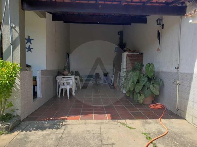 casa itaipu eng do mato 1 - Imobiliária Agatê Imóveis vende Casa Duplex de 250 m² Itaipu - Niterói por 700 mil reais. - HTCA30223 - 8