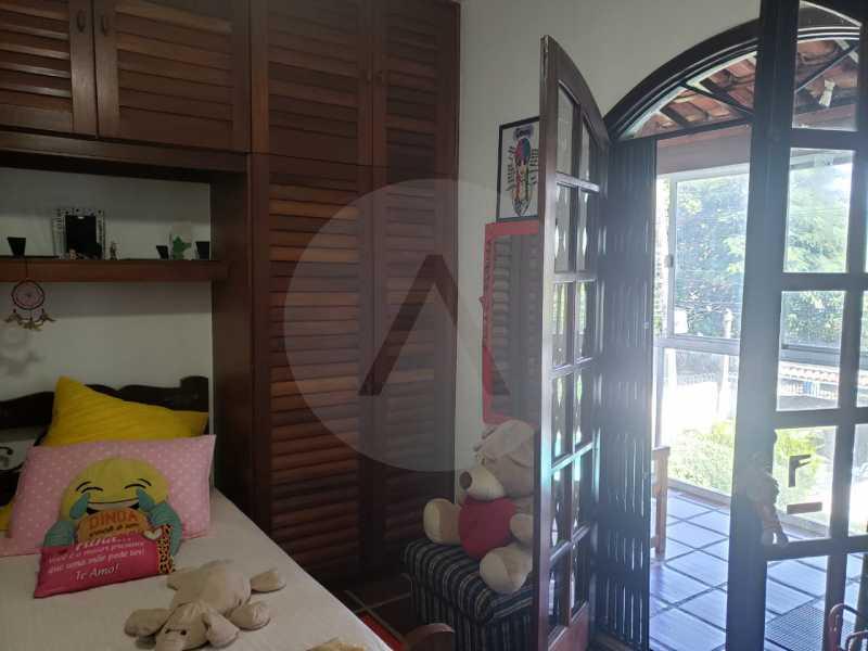 casa itaipu eng do mato 7 - Imobiliária Agatê Imóveis vende Casa Duplex de 250 m² Itaipu - Niterói por 700 mil reais. - HTCA30223 - 13