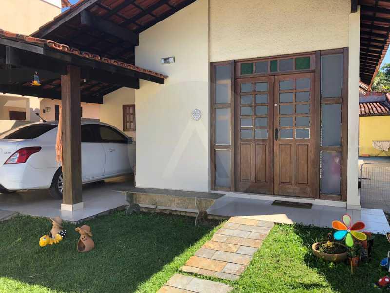 1 Casa Padrão Itaipu. - Imobiliária Agatê Imóveis vende Casa Linear de 100 m² Itaipu - Niterói por 470 mil reais. - HTCA20035 - 1