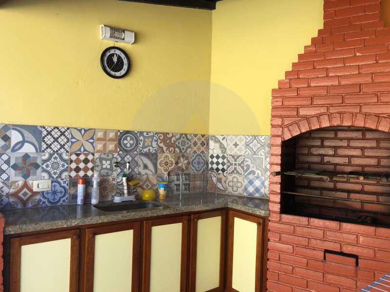 10 Casa Padrão Itaipu. - Imobiliária Agatê Imóveis vende Casa Linear de 100 m² Itaipu - Niterói por 470 mil reais. - HTCA20035 - 11
