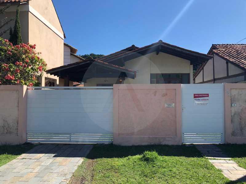 12 Casa Padrão Itaipu. - Imobiliária Agatê Imóveis vende Casa Linear de 100 m² Itaipu - Niterói por 470 mil reais. - HTCA20035 - 13