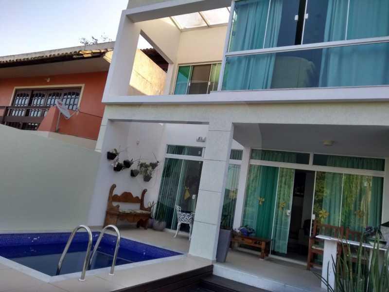 1 Casa Padrão Camboinhas. - Imobiliária Agatê Imóveis vende Casa Padrão - Camboinhas - Niterói. - HTCA40112 - 1