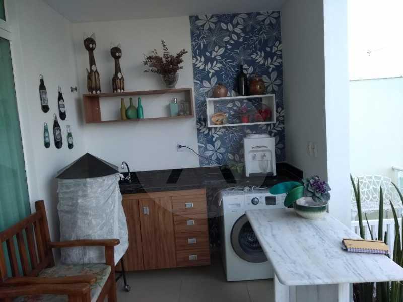 6 Casa Padrão Camboinhas. - Imobiliária Agatê Imóveis vende Casa Padrão - Camboinhas - Niterói. - HTCA40112 - 7