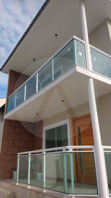 2 Casa Padrão Itaipu. - Imobiliária Agatê Imóveis vende Casa Duplex - Itaipu - Niterói. - HTCA30230 - 3