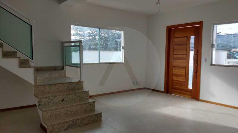 4 Casa Padrão Itaipu. - Imobiliária Agatê Imóveis vende Casa Duplex - Itaipu - Niterói. - HTCA30230 - 5