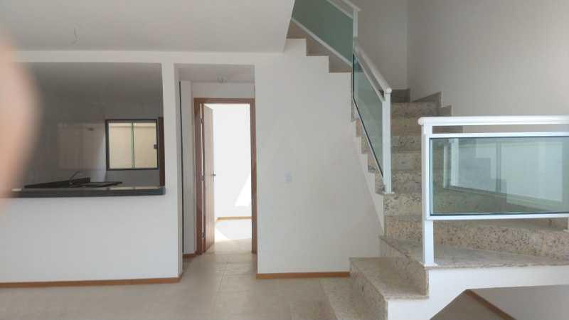 5 Casa Padrão Itaipu. - Imobiliária Agatê Imóveis vende Casa Duplex - Itaipu - Niterói. - HTCA30230 - 6