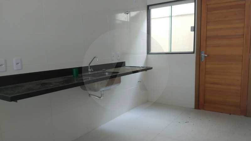 7 Casa Padrão Itaipu. - Imobiliária Agatê Imóveis vende Casa Duplex - Itaipu - Niterói. - HTCA30230 - 8