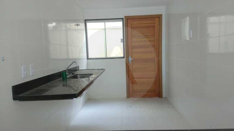 8 Casa Padrão Itaipu. - Imobiliária Agatê Imóveis vende Casa Duplex - Itaipu - Niterói. - HTCA30230 - 9