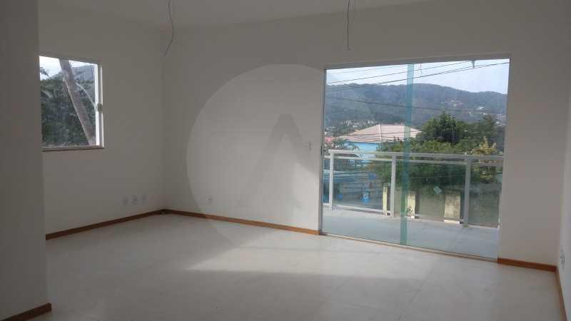 13 Casa Padrão Itaipu. - Imobiliária Agatê Imóveis vende Casa Duplex - Itaipu - Niterói. - HTCA30230 - 14