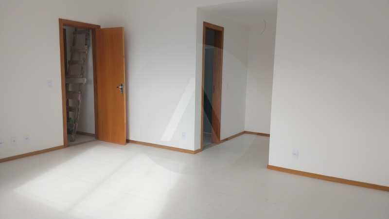 15 Casa Padrão Itaipu. - Imobiliária Agatê Imóveis vende Casa Duplex - Itaipu - Niterói. - HTCA30230 - 16