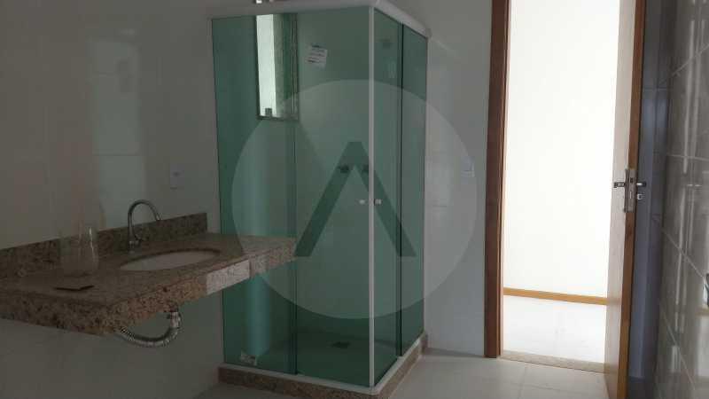 16 Casa Padrão Itaipu. - Imobiliária Agatê Imóveis vende Casa Duplex - Itaipu - Niterói. - HTCA30230 - 17