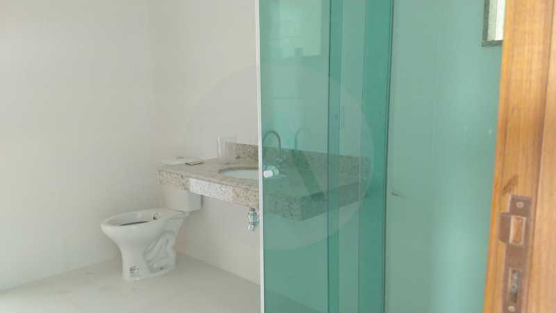17 Casa Padrão Itaipu. - Imobiliária Agatê Imóveis vende Casa Duplex - Itaipu - Niterói. - HTCA30230 - 18