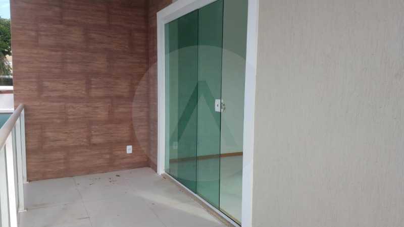 18 Casa Padrão Itaipu. - Imobiliária Agatê Imóveis vende Casa Duplex - Itaipu - Niterói. - HTCA30230 - 19