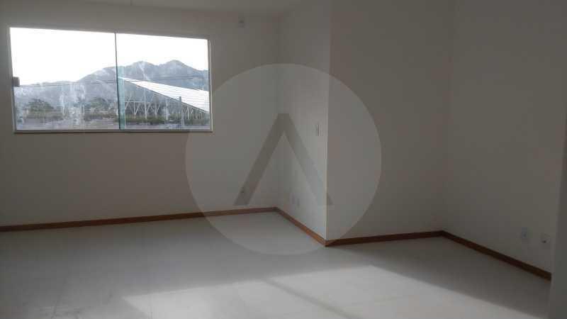 22 Casa Padrão Itaipu. - Imobiliária Agatê Imóveis vende Casa Duplex - Itaipu - Niterói. - HTCA30230 - 23