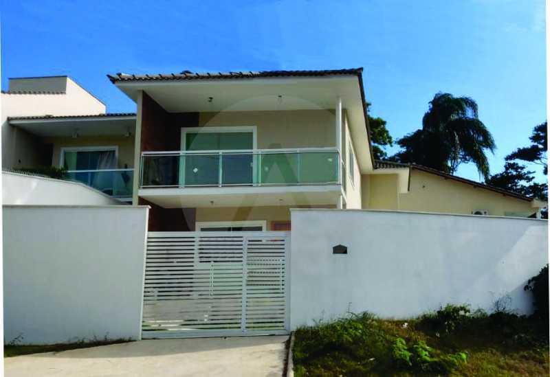 1 Casa Padrão Itaipu. - Imobiliária Agatê Imóveis vende Casa Duplex - Itaipu - Niterói. - HTCA30230 - 1