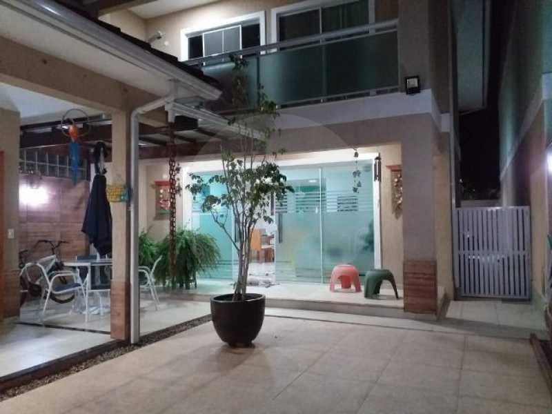 casa boa vista 01 - Casa em Condomínio 4 quartos à venda Itaipu, Niterói - R$ 850.000 - HTCN40075 - 1
