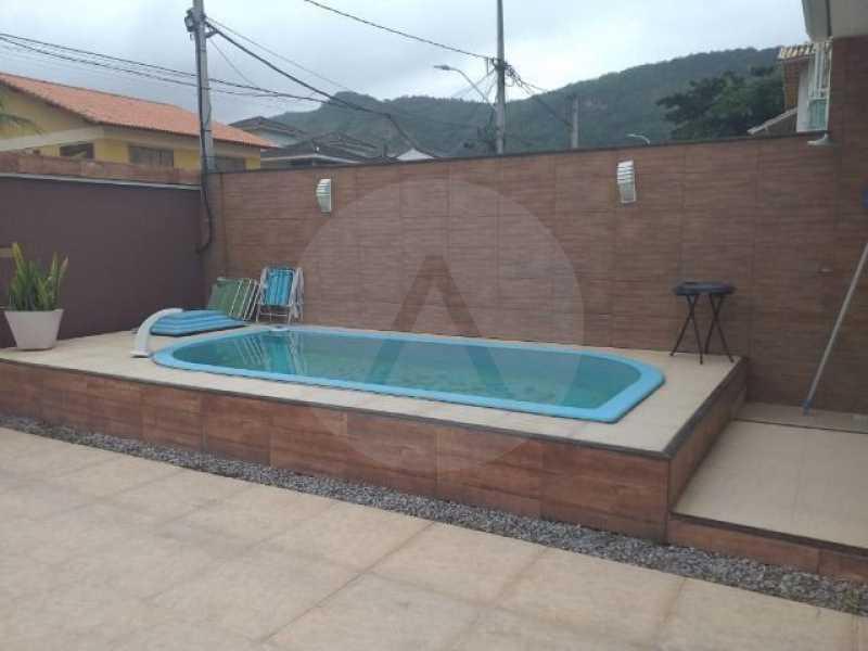 casa boa vista 012 - Casa em Condomínio 4 quartos à venda Itaipu, Niterói - R$ 850.000 - HTCN40075 - 12