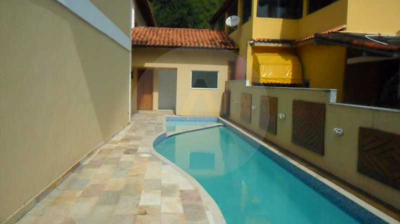 Casa Condomínio Itaipu Niterói - Imobiliária Agatê Imóveis vende Casa Duplex em Condomínio de 150 m² Itaipu - Niterói por 320 mil reais. - HTCN30012 - 3