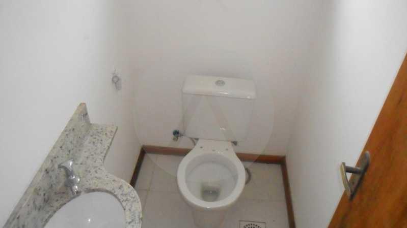 Casa Condomínio Itaipu Niterói - Imobiliária Agatê Imóveis vende Casa Duplex em Condomínio de 150 m² Itaipu - Niterói por 320 mil reais. - HTCN30012 - 12