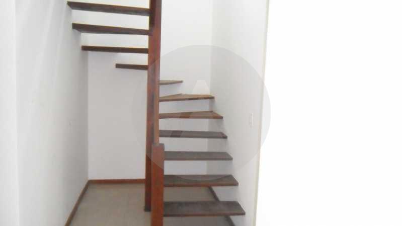 Casa de Condomínio em Itaipu  - Imobiliária Agatê Imóveis vende Casa Duplex em Condomínio de 150 m² Itaipu - Niterói por 320 mil reais. - HTCN30012 - 16