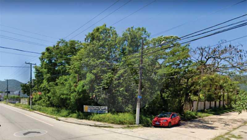 Terreno Av. Central Ana Claudi - Imobiliária Agatê Imóveis vende Terreno Comercial Plano, 500m² por R560 mil reais - Itaipu - Niterói/RJ. - HTTC00001 - 1