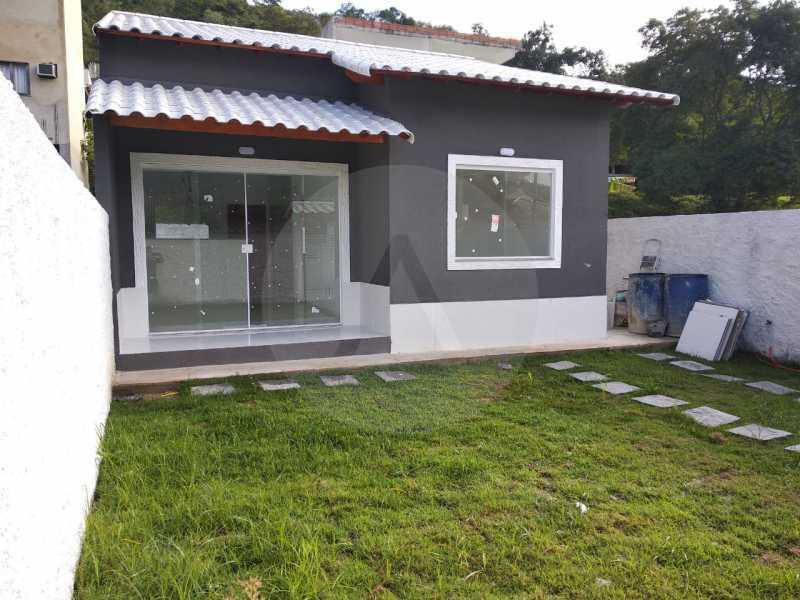 Casa Condomínio  - Imobiliária Agatê Imóveis vende Casa em Condomínio de 61 m² Várzea das Moças - Niterói. - HTCN20047 - 1