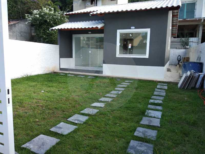 Casa Condomínio  - Imobiliária Agatê Imóveis vende Casa em Condomínio de 61 m² Várzea das Moças - Niterói. - HTCN20047 - 4