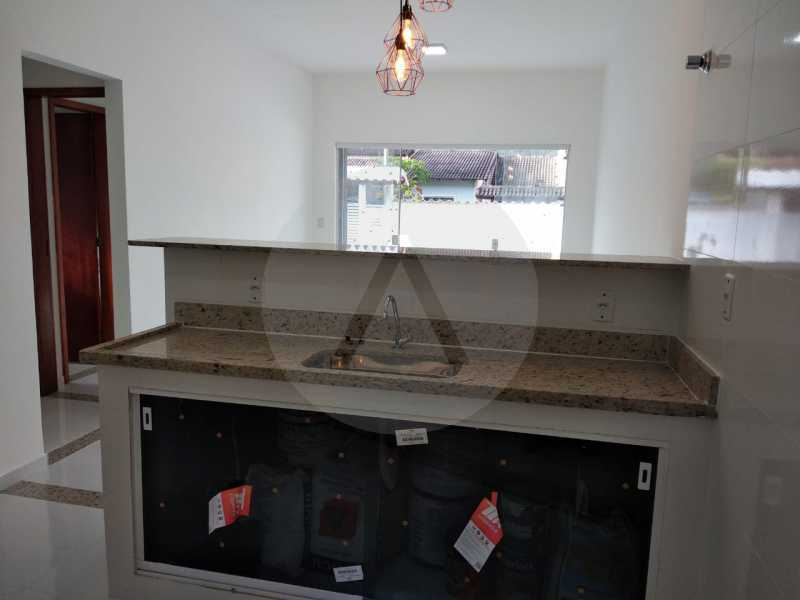 Casa Condomínio  - Imobiliária Agatê Imóveis vende Casa em Condomínio de 61 m² Várzea das Moças - Niterói. - HTCN20047 - 11